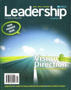 Leadership Journal Africa September 2012
