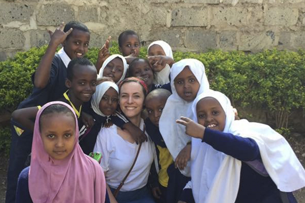 Jordan with orphans
